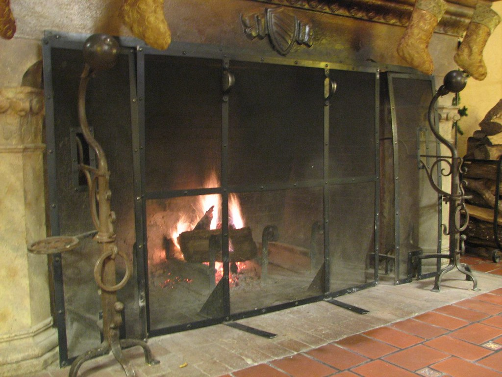 Fireplace - Sonoma Mission Inn