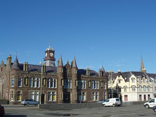 Stornoway Town Hall before the changes