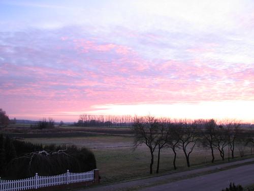 Eiskalter Morgengruss