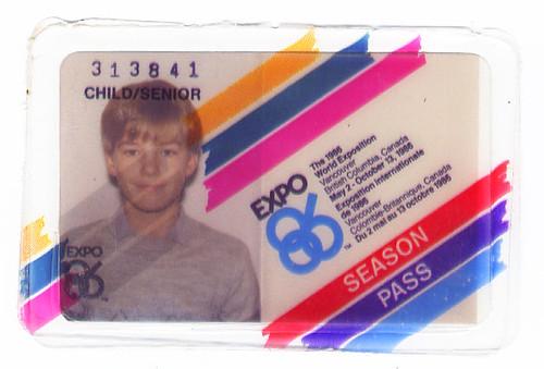 Expo 86 Pass