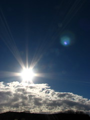 """A daystar rises"" (MacSmiley) Tags: sky sun nature clouds 2006 explore instantfave interestingness194 i500 jehovahscreation imagekind macsmiley utatacolorwhite anawesomeshot 12142006 utatathursdaywalk35 wowiekazowie adaystarrises"