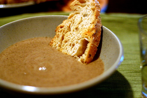 balthazar's cream of mushroom soup | smitten kitchen