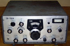 SR-700A Communications Receiver --- Front