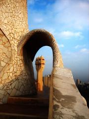 Fantasmas (Lou Rouge) Tags: barcelona sunset architecture atardecer spain arquitectura mode