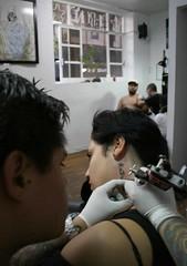 CARO11 (papas con chile) Tags: mexico rosa amiga estudio fractal tatoo zona dolor tatuaje tintas agujas parasiempre carolinia