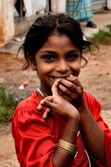Coffee Girl (anaxila) Tags: people india portraits children karnataka madikeri indianchildren canonefs1855mmf3556 lpbesttravel