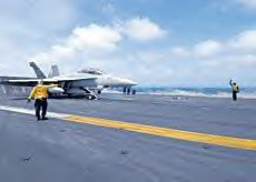 US warplanes taking off for Somali bombing mission from the USS Eisenhower near the Horn of Africa. The US and EU are expanding their presence in the region amid hysteria generated by the piracy issue. by Pan-African News Wire File Photos