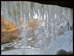 Behind the Falls (Jim's outside photos) Tags: park ice nature water minnesota waterfall photos outdoor minneapolis cascade minnehaha minnehahafalls minnehahacreek outdoorphotos outdoorphotography jimbrekke jimsoutsidephotos 25faves abigfave jimbrekkecom jamesbrekkecom