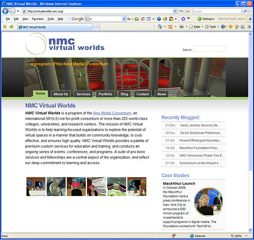 NMC VW website