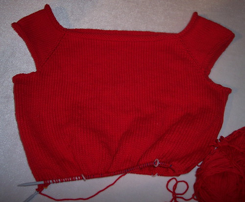 Tivoli in Red cotton ease