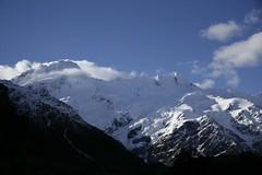 Mount Sefton...I think? (Devslashnull007) Tags: newzealand honeymoon mountcook
