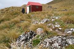 outside arete biv (go wild - NZ outside) Tags: park new forest outdoors conservation huts hut zealand nz doc tops 2007 biv tararua arete tararuatramping