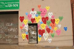 IMG_5252.jpg (jakedobkin) Tags: nyc streetart colors hearts graffiti heart faces chrisuphues