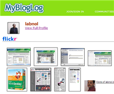MyBlogLog Marries Flickr