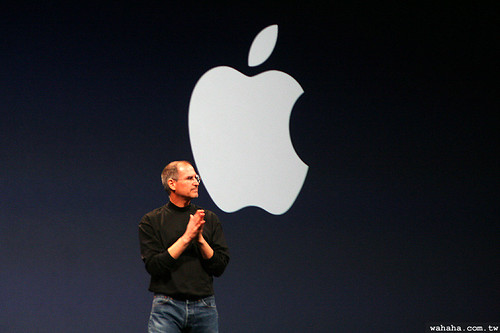 Steve Jobs Cliched Buddha Pose
