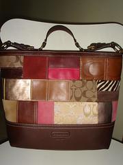 Nov 06 Coach Patchwork Shoulder Duffle tote bag handbag purse from US 347dc76163cef