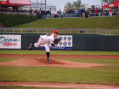 Mark Prior Pitches For Lugnuts