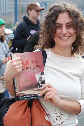 Marisa Handler & her first book