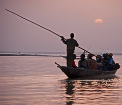 Rowing on the Niger (bdinphoenix) Tags: africa sunset 15fav 1025fav 510fav wow topv333 nikon mali nigerriver realone thecontinuum nikonstunninggallery imagesoftheworld aplusphoto 230countriesmali superhearts barrywilliamsphotography
