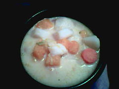 Winter vegetable chowder