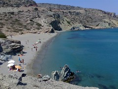 Itanos beach (chrisfiss) Tags: beach nokia paradise greece crete 6270 itanos
