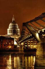 St Pauls Cathedral (graspnext) Tags: bridge london night bravo nightscape stpauls millenium aplusphoto