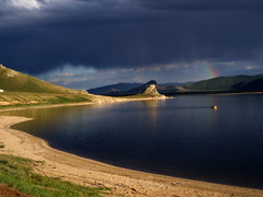 El llac blanc (Guifr Miquel) Tags: lake arcoiris lago rainbow mongolia llac thesource supershot specnature arciris abigfave monglia colorphotoaward top20travel superbmasterpiece