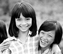 Good friends (danielguip) Tags: children vietnam scoreme43 bunmthut