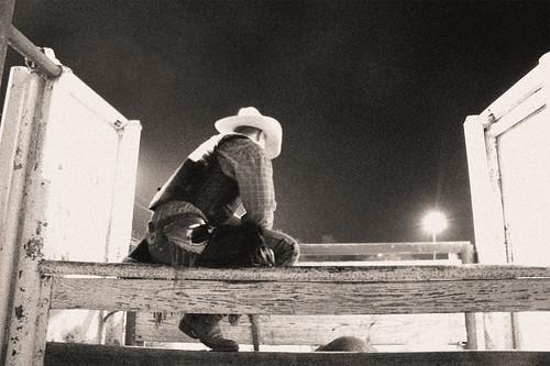 Black & White Cowboy by Ranger 1
