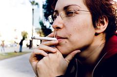 smoking people (Lena Utro) Tags: street city trip people art face telaviv cityscape faces surround trips concept conceptual portret bildings