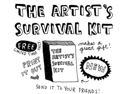 artist's survival kit ~keri smith (20070215)