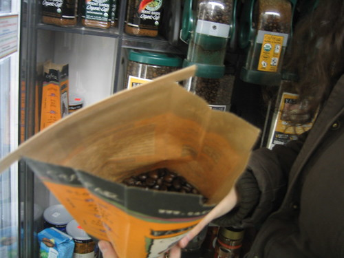 Buying Fair Trade Coffee at the Flatbush Food Co-op