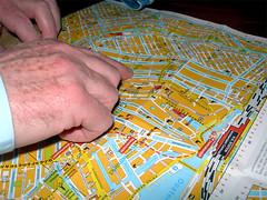18 Feb (sjk2007) Tags: road street amsterdam john table pub hand map finger drinks norwich thumb rushcutters hpad180207