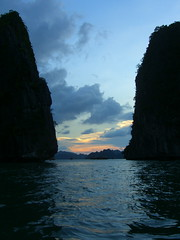 Halong Bay from sea level