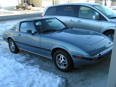 1985 Mazda Rx-7 GSL (dave_7) Tags: car japanese mine fb mazda 1985 rx7 85 rotary gsl 7car