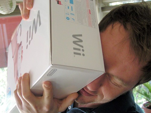 wii on my face