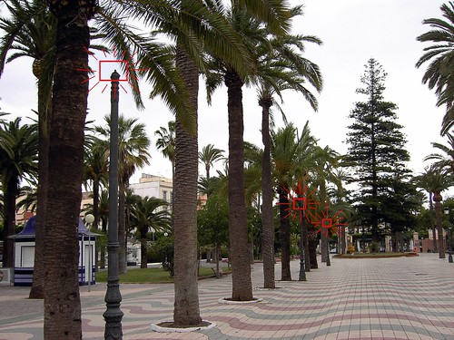 Parque Hernandez a falta de Farolas