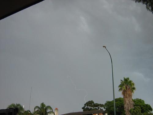 Lightning sky Feb