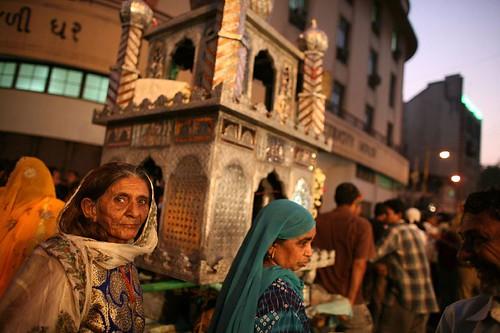 Muslim woman - Ahmedabad Festival