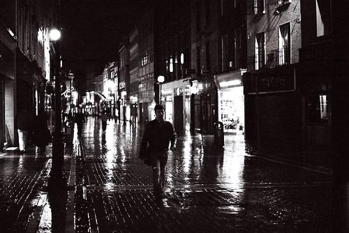 Rainy Night On Grafton Street