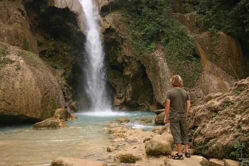 Khouang Xi Waterfalls, Laos.