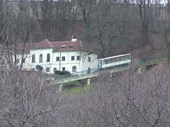 Funicular Railway to Petrin Lookout Tower, Prague.