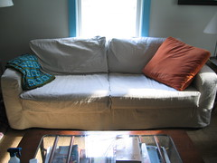 Drop Cloth Slipcover