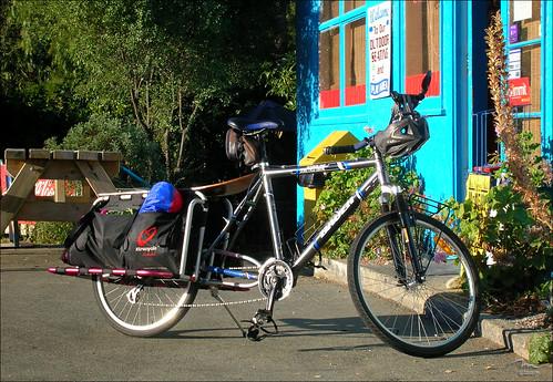 Xtracycle at the Hira Store