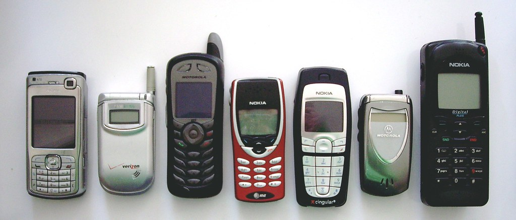some cell phones in my house