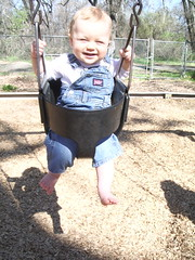 Smiling In Swing 3/13/07