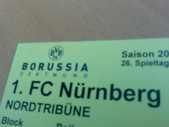 Borussia Dortmund vs. 1. FC Nürnberg