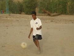 Soccer in Luxor