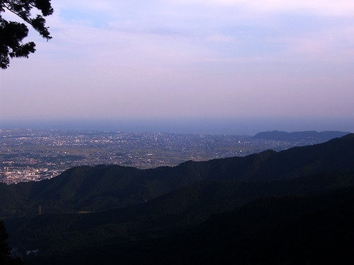 Look towards Shonan area from Oyama
