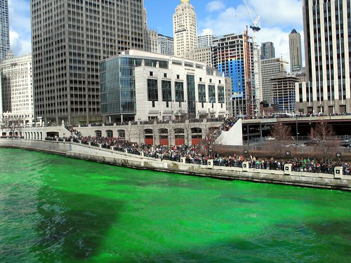 The Dye-ing of the Chicago River 5